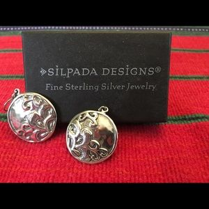 Sterling Silver Silpada Earrings